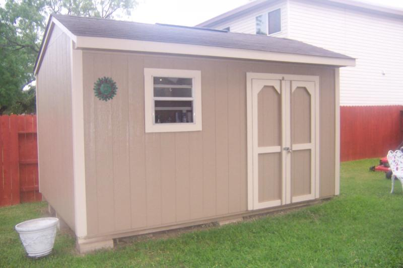 Better built garden shed for Garden sheds built on site